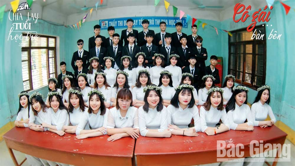Bắc Giang: Lắng đọng khoảnh khắc chia tay tuổi học trò